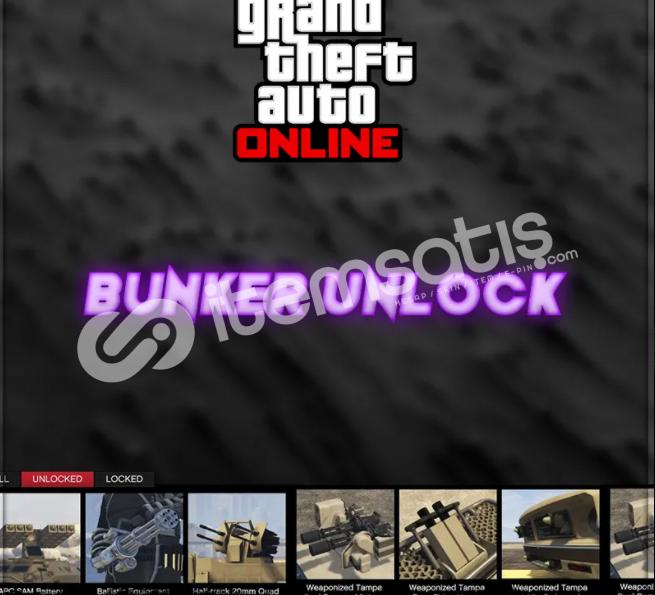 Gta 5 Online Bunker Unlock