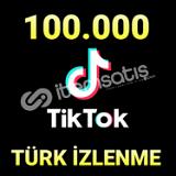 +100K TİKTOK İZLENME/ANINDA TESLİMAT(KEŞFET ETKİLİ)