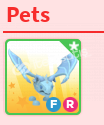 Adopt Me FR Frost Dragon