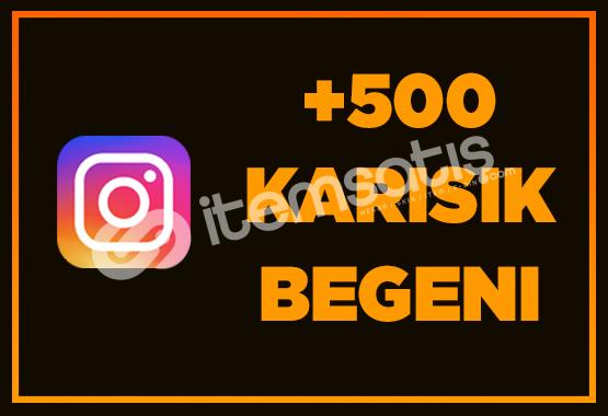 500 İNSTAGRAM BEĞENİ - ANINDA TESLİMAT
