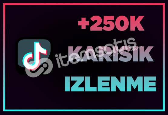 250.000 İZLENME/ ANLIK GÖNDERİM / İNDİRİM!