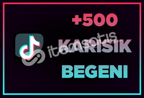 500 BEĞENİ / ANLIK GÖNDERİM / İNDİRİM!