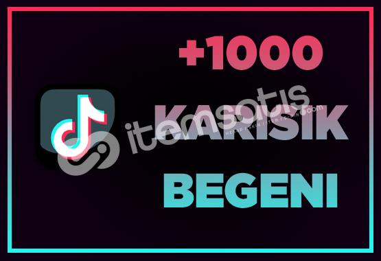 1000 BEĞENİ / ANLIK GÖNDERİM / İNDİRİM!