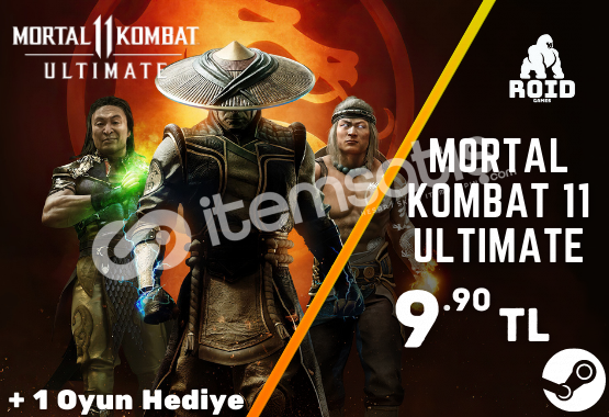 MORTAL KOMBAT 11 ULTIMATE Steam Hesabı