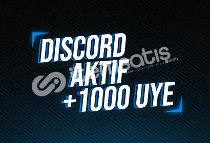 DISCORD +1000 AKTIF UYE!