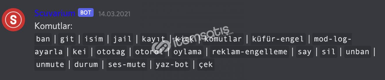 Discord Her Şeyi Hazır Public Bot Altyapısı