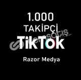 TİKTOK 1.000 TAKİPÇİ HIZLI ! (Garantili)