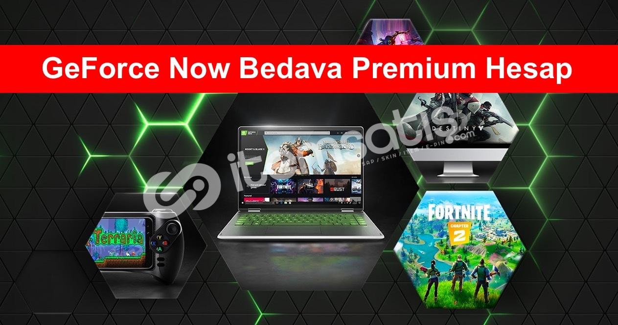 Geforce Now Ücretsiz Sınırsız Premium Method