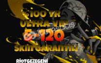 %100 TR 5-120 SKİN ARASI ULTRA VİP!!! HESAPLAR