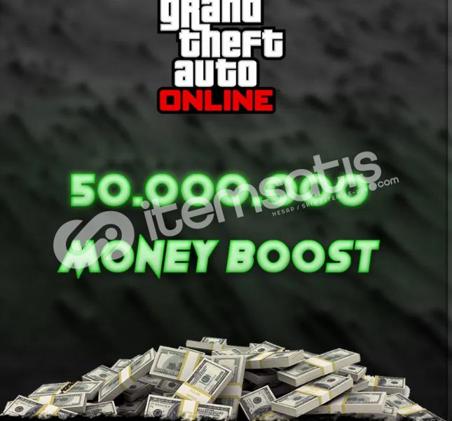 Gta 5 Online 50M Para