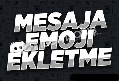 Mesaja +100 Emoji Ekletme! (Reaction) [İNDİRİM]