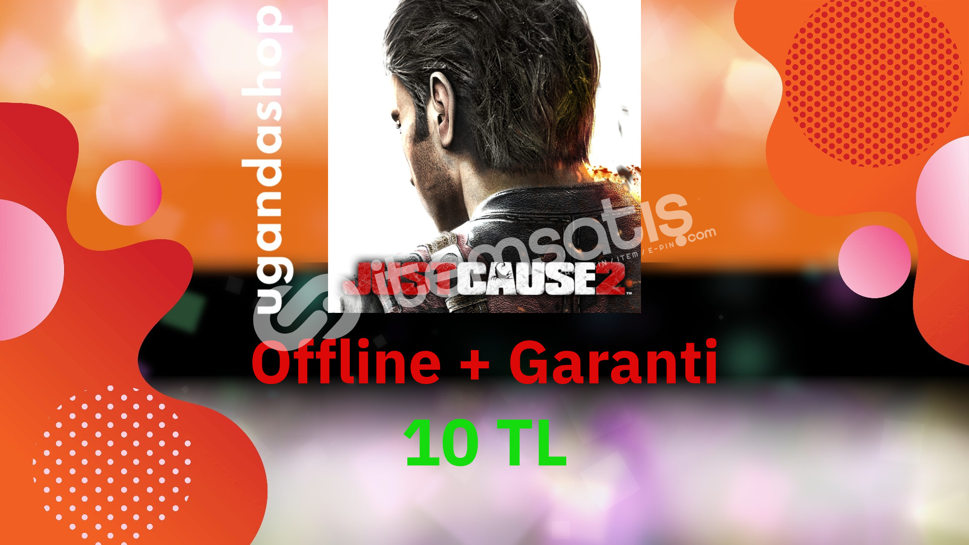 Just Cause 2 Bütün DLC'ler Offline Steam Hesap