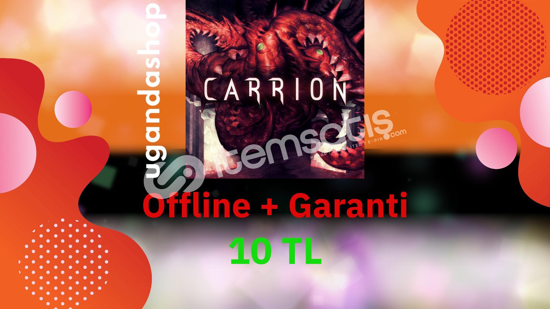 Carrion Deluxe Edition Offline Steam Hesap