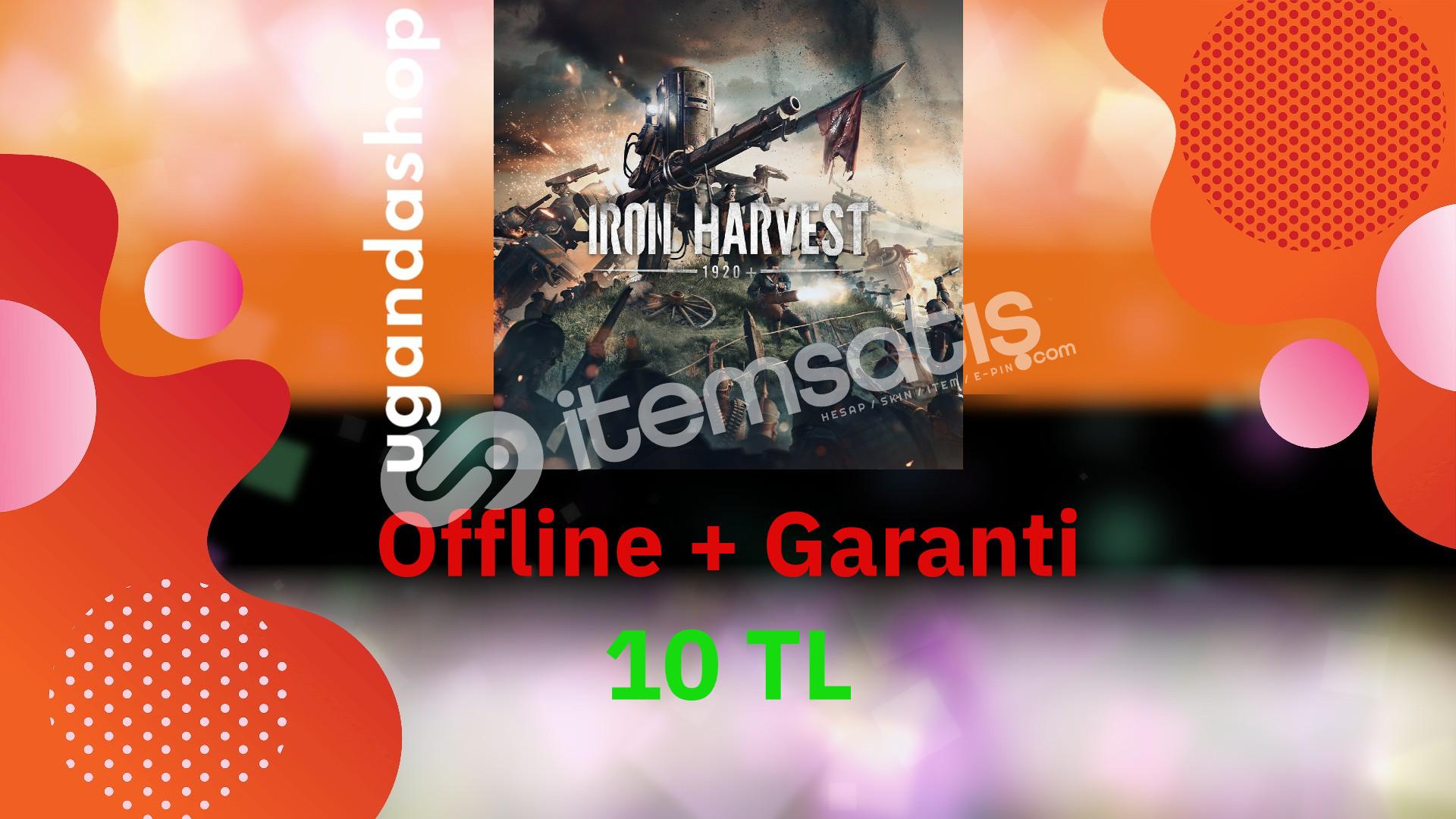 Iron Harvest Offline Steam Hesap + Garanti
