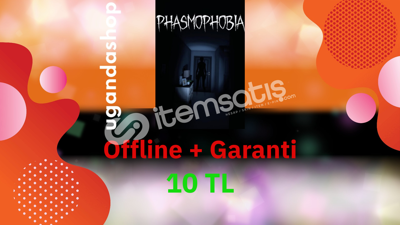 Phasmophobia Offline Steam Hesap + Garanti