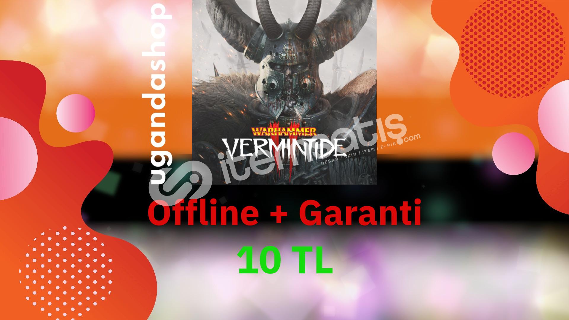 Warhammer Vermintide 2 Offline Steam Hesap