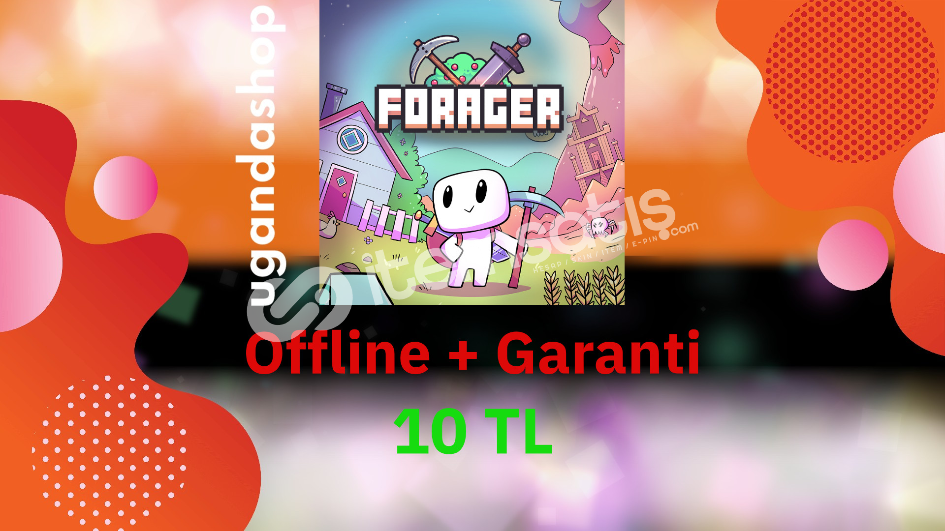 Forager Offline Steam Hesap + Garanti