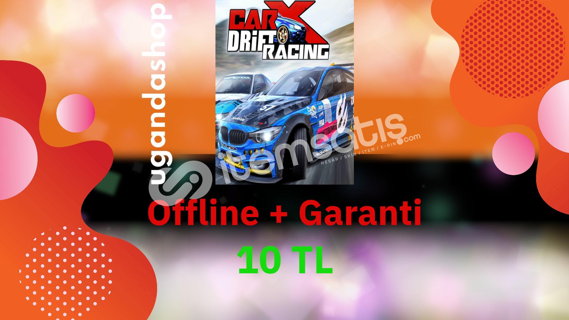 Carx Drift Racing Offline Steam Hesap + Garanti