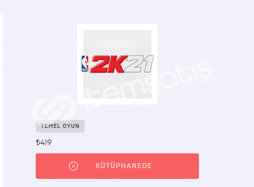 Epic Games Hesabı (NBA 2K21 - CİTİES SKYLİNES)
