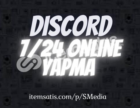 Discord 7/24 Online Yapma / İndirim