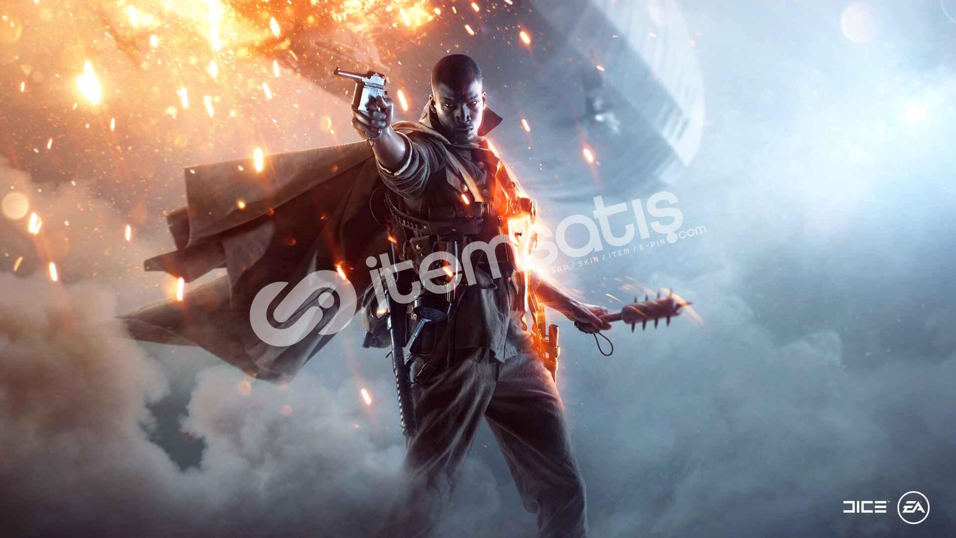 Battlefield 1 + Garanti + Sınırsız Destek !