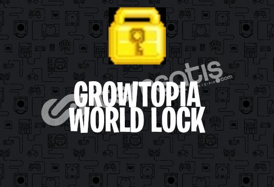 Growtopia World Lock 100 Adet