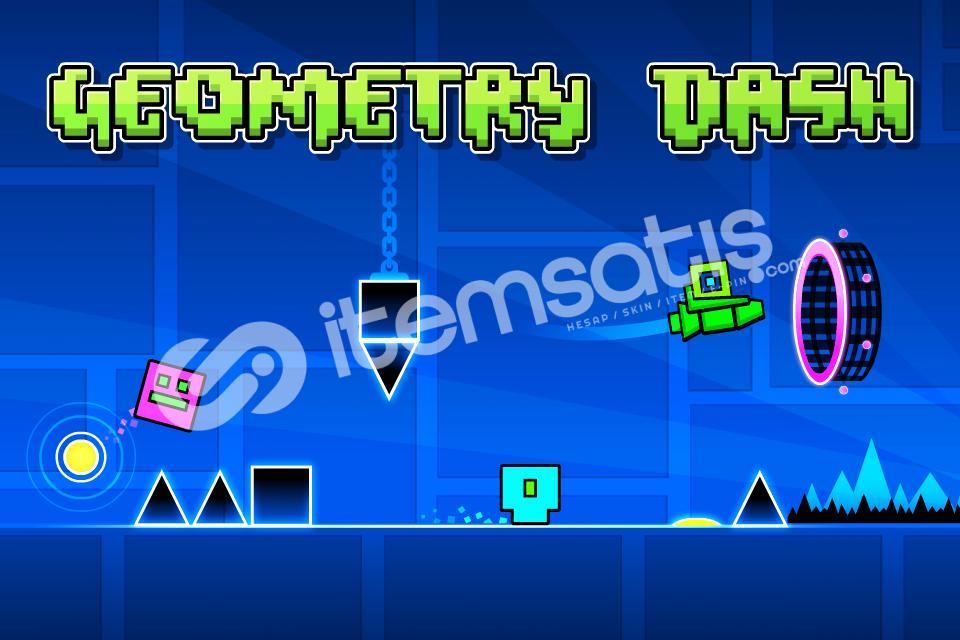 Geometry Dash *(09.99TL)* - Steam