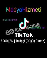 Tiktok 5k türk aktif takipçi