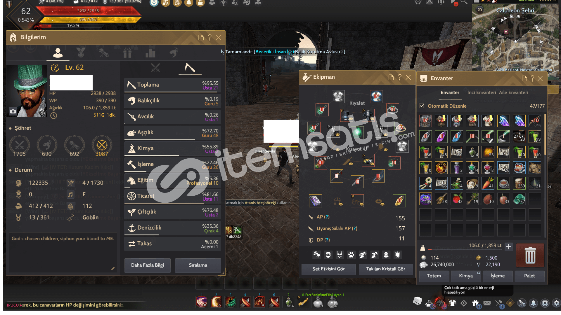 660 GS Sorc + LIFESKILL