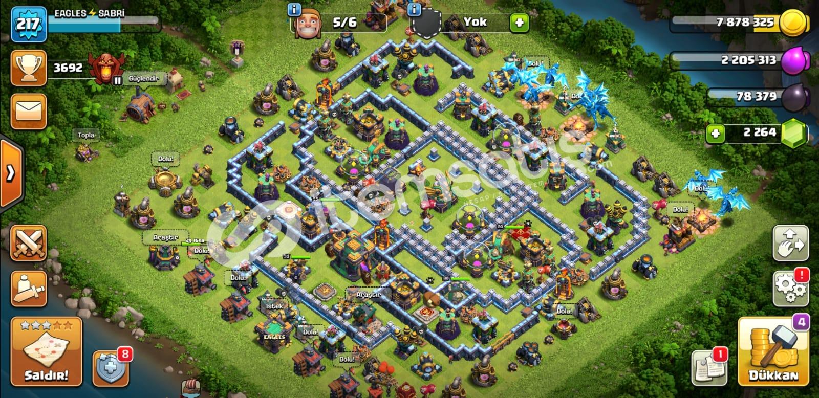 bb14 217 seviye tüm herolar full ve full köy