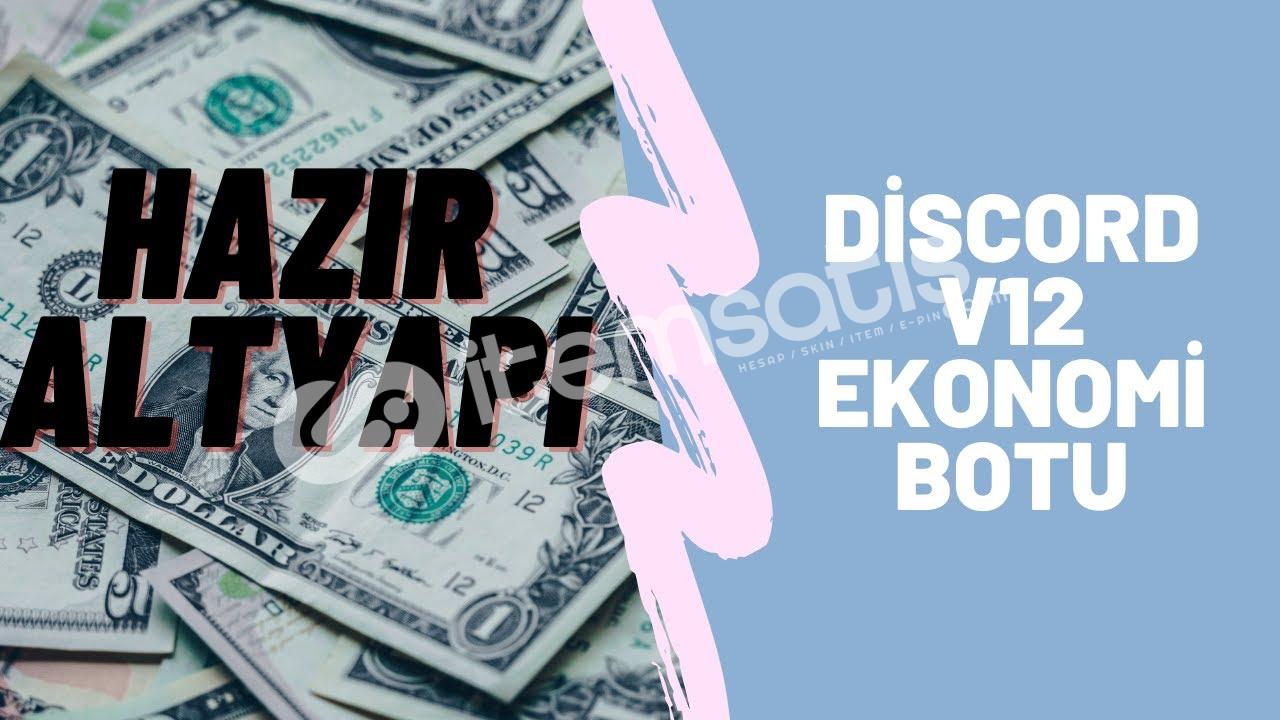 Discord BDFD ekonomi botu komutları pack