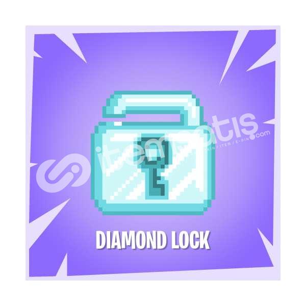 1 ADET Diamond Lock