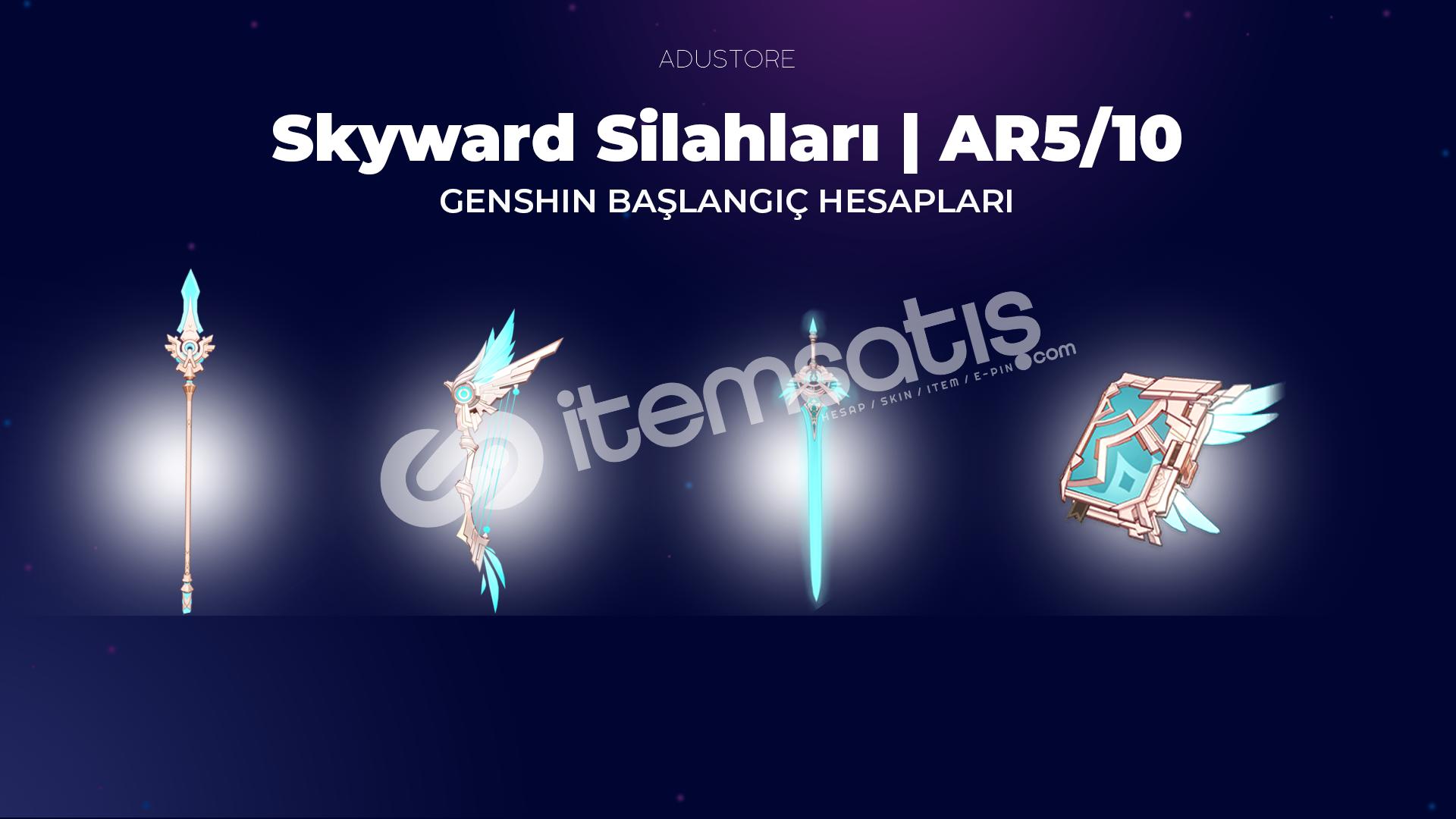 Skyward Silahları | Başlangıç Hesapları