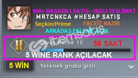 Seçkin/Prime |58 SAAT| FACEİT KURULMAMIŞ HAZIR