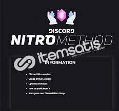 Discord Nitro Method