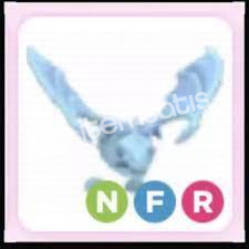 Adopt Me Neon Fly Ride Frost Dragon