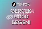 1.000 Tiktok Beğeni (KEŞFET ETKİLİ)