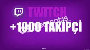 Twitch 1.000 Takipçi (ANINDA)