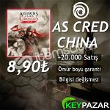 AS CRED CHİNA ÖMÜR BOYU GARANTİ + HEDİYELİ! UPL