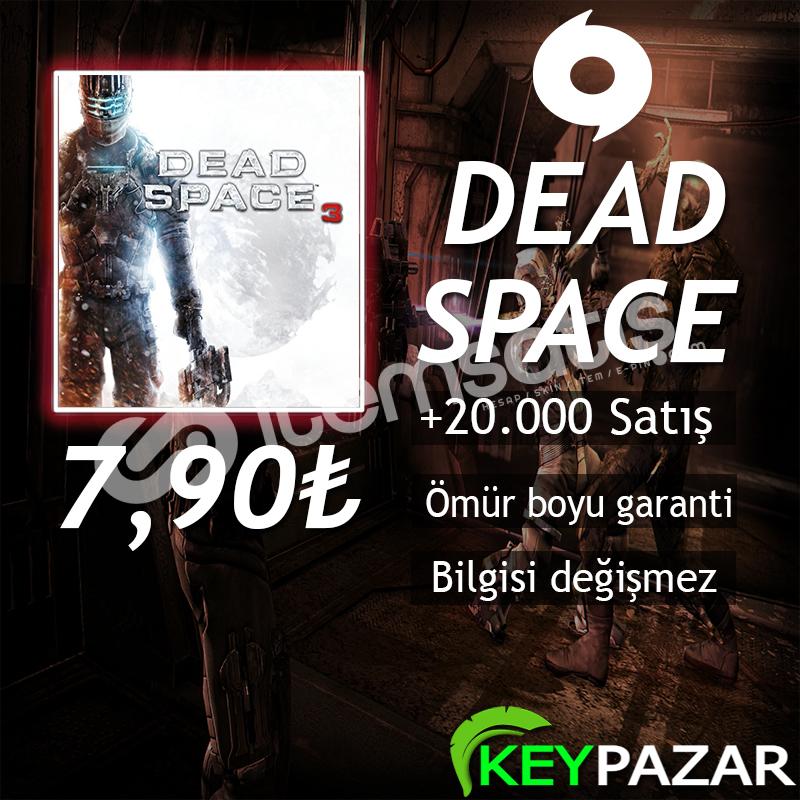 DEAD SPACE 3 ÖMÜR BOYU GARANTİ + HEDİYELİ! ORİG