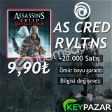 AS CRED REVELATİONS ÖMÜR BOYU GARANTİ + HEDİYEL