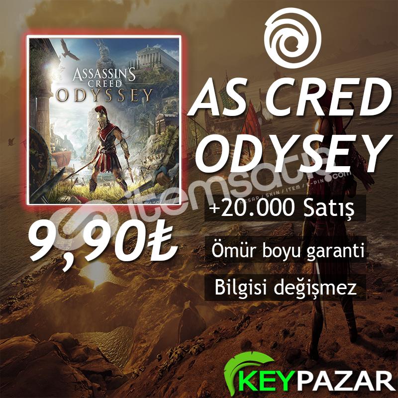 AS CRED ODYSSEY ÖMÜR BOYU GARANTİ + HEDİYELİ! O