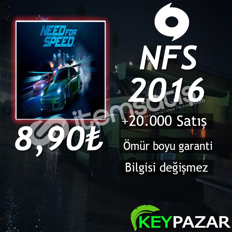 NFS 2015 + 2016 ÖMÜR BOYU GARANTİ + HEDİYELİ! O
