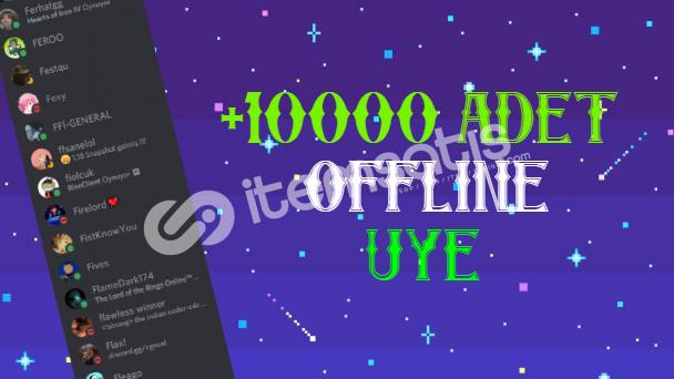 10000 Adet Offline Üye