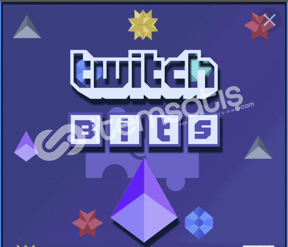 Twitch 1000 Bit/Cheer Gönderimi