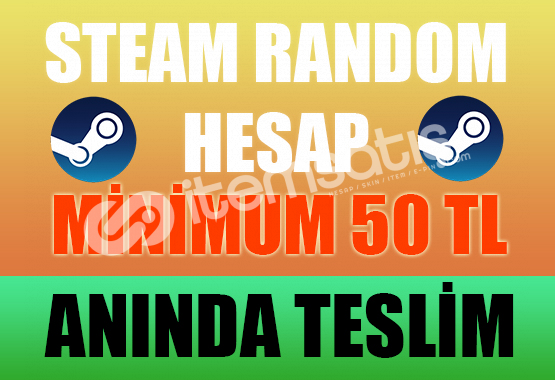 Steam Random Hesap - PREMİUM