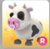 Ride , Rare Cow Adopt Me Pet (Robux Değeri 500)