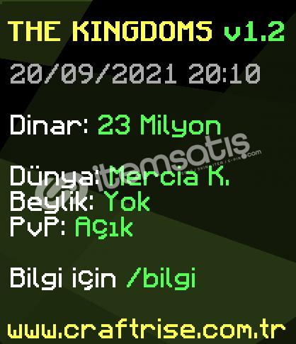 CraftRise The Kingdoms 1 Milyon Dinar
