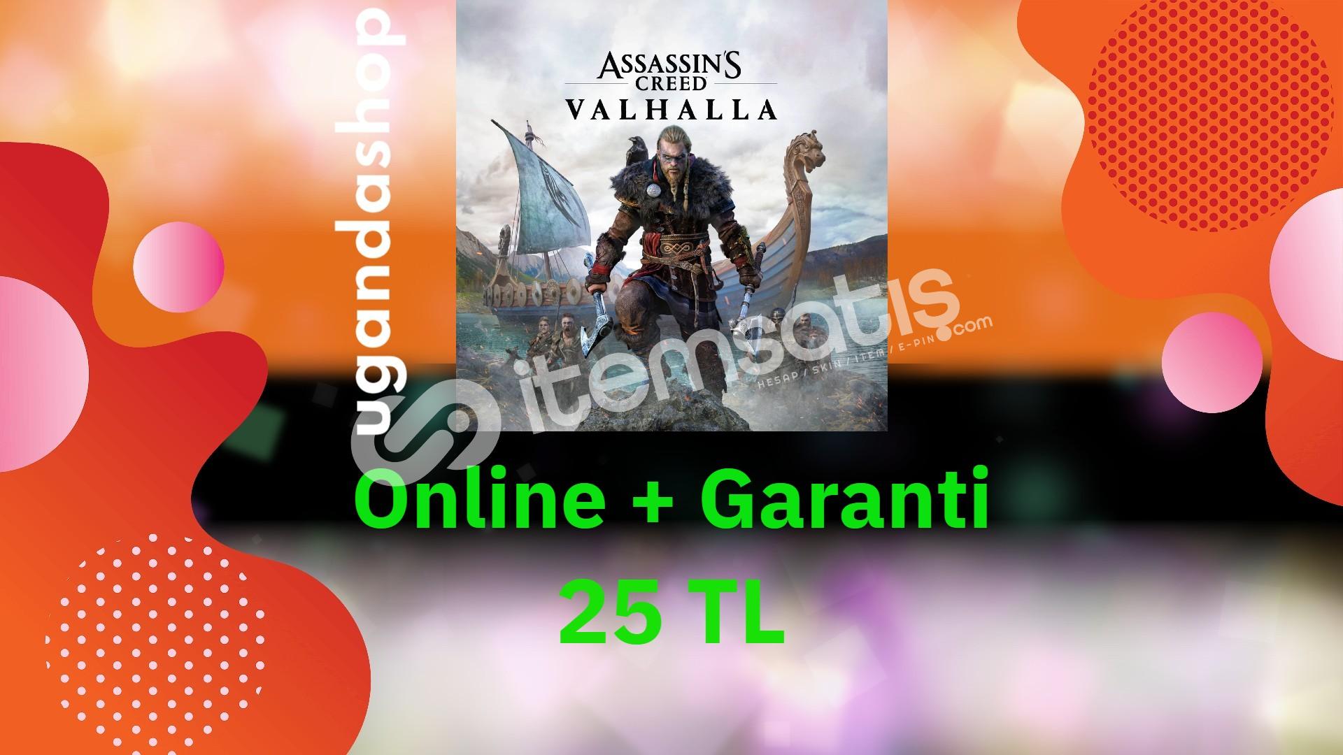 Assassins Creed Valhalla Online Ubisoft Hesap