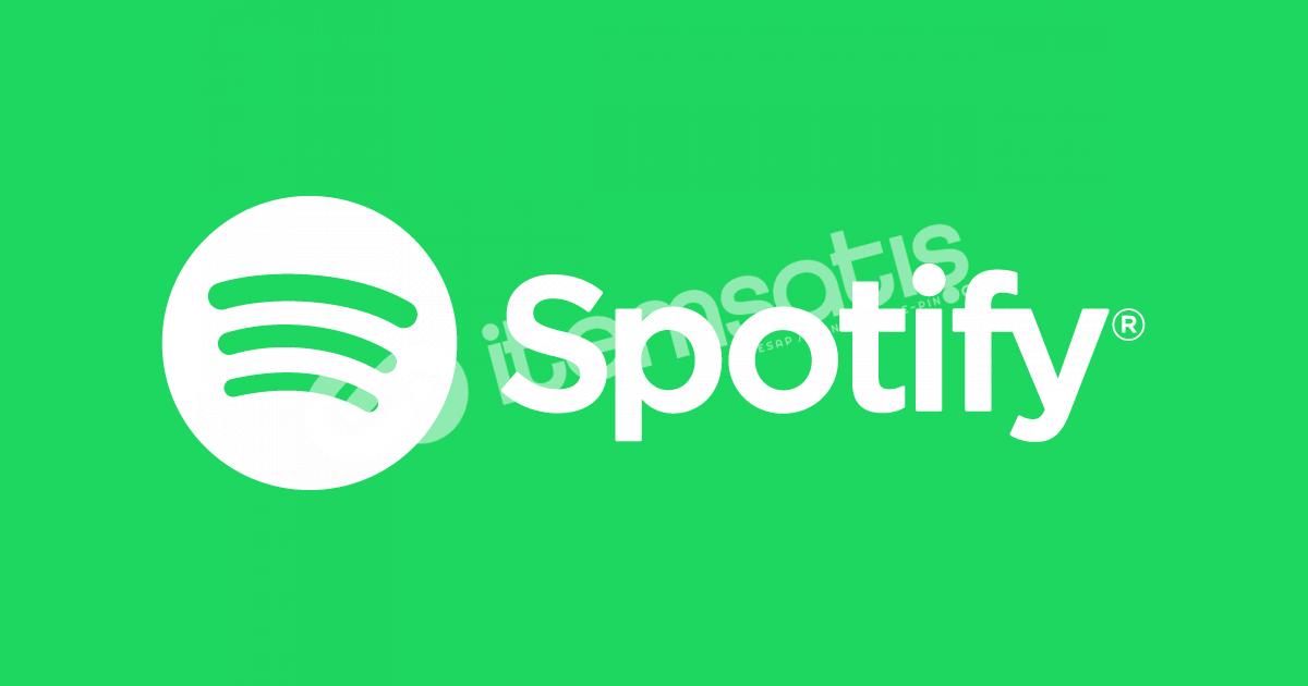 Mevcut Spotify hesabınızı yenileme hizmeti